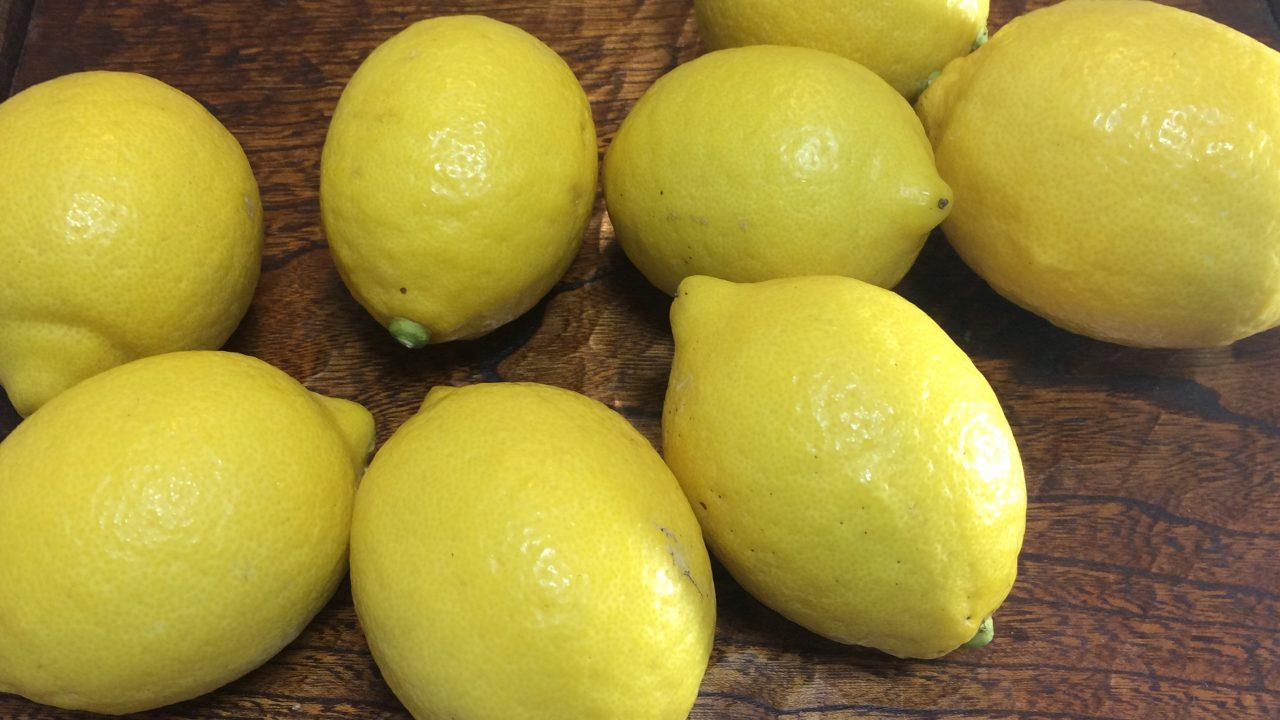 防腐剤&ワックス不使用レモン