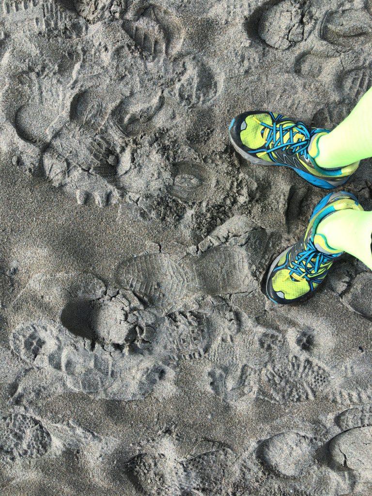 御宿の砂浜